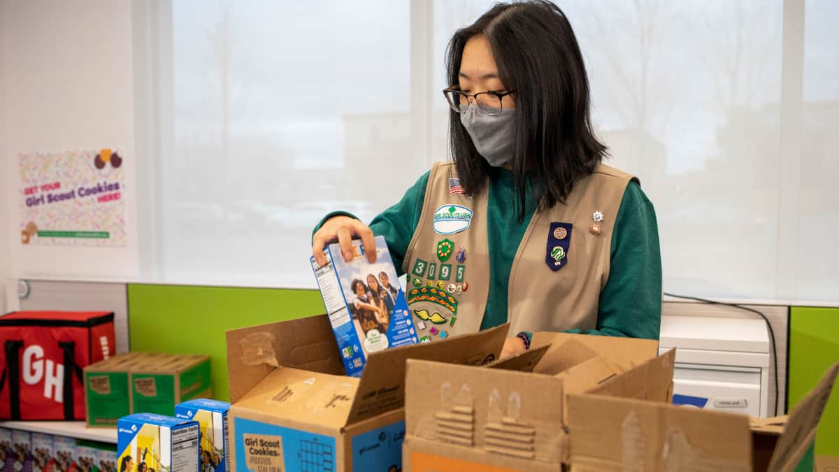 Grubhub to deliver Girl Scout cookies