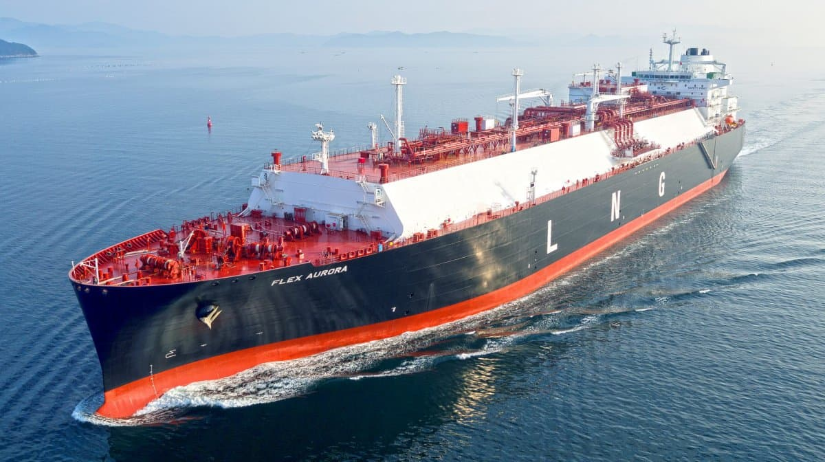 LNG shipping rate ship