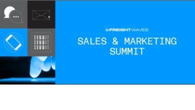 FreightWaves Sales & Marketing virtual summit