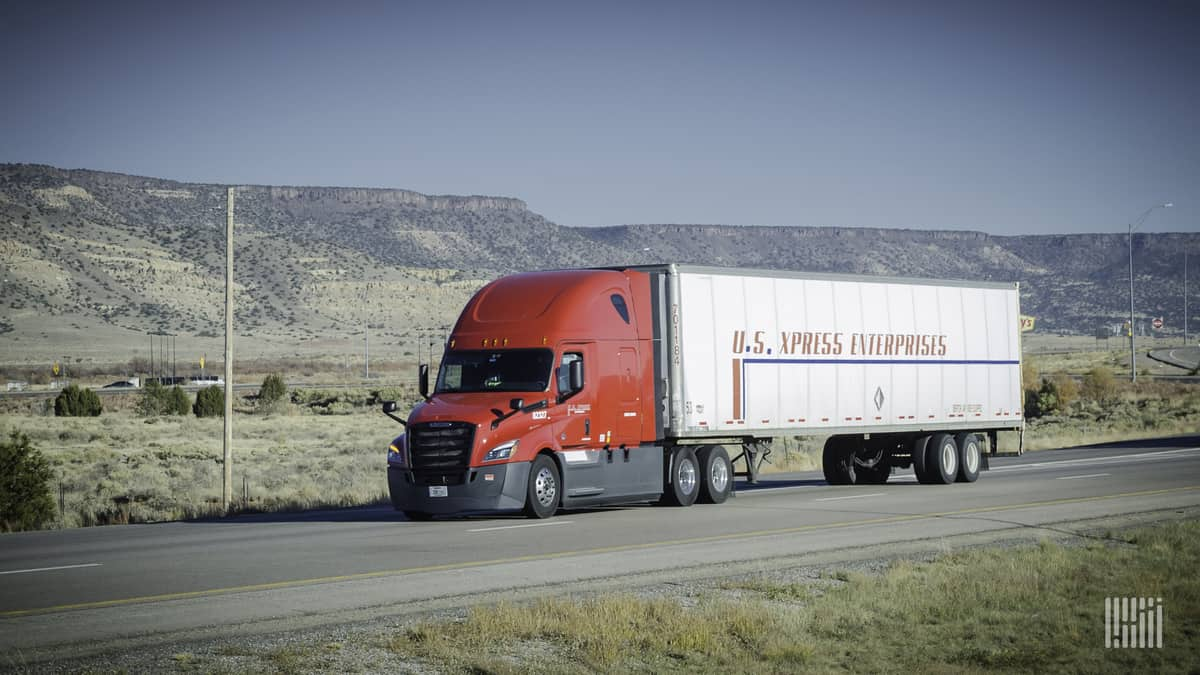 U.S. Xpress sees current fundamentals lasting well into 2021 - FreightWaves