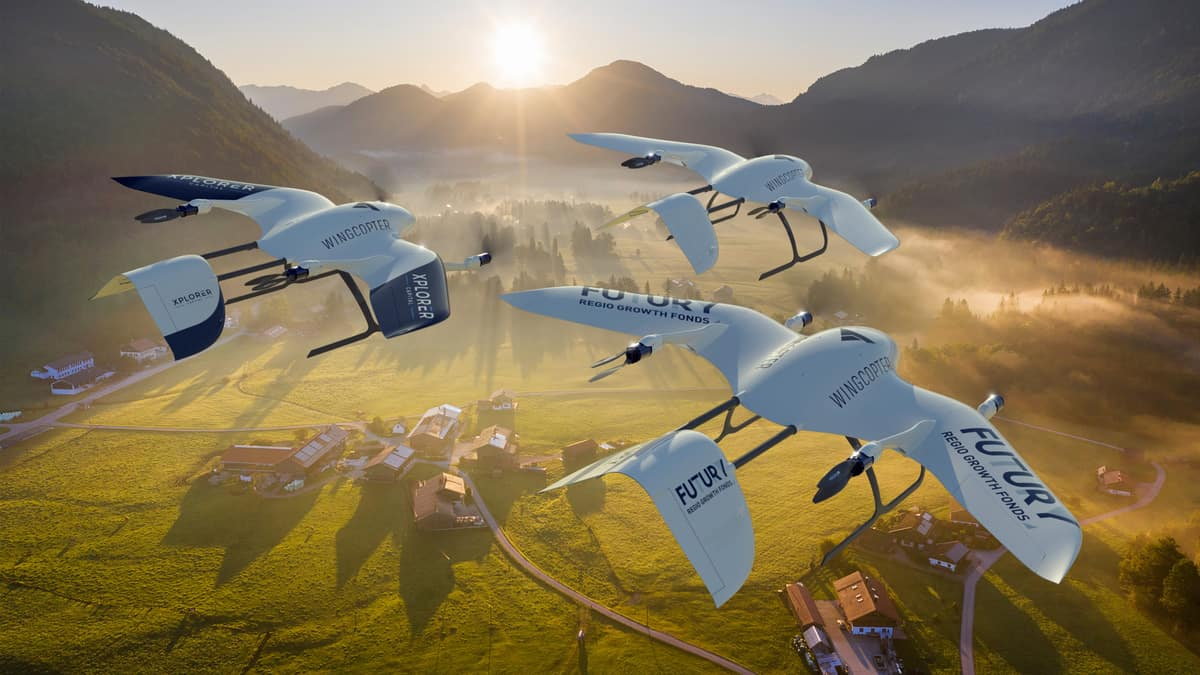 Wingcopter raises $22 million to build drones