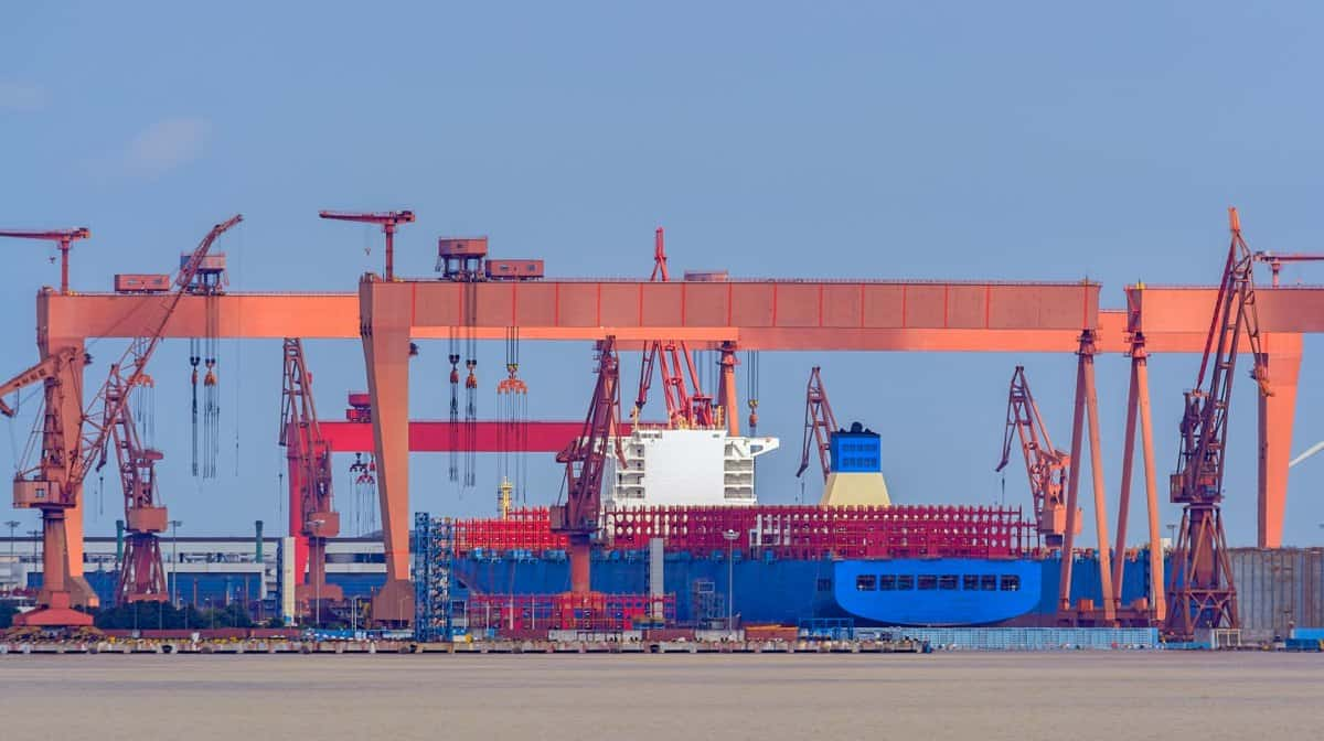 container ship orders