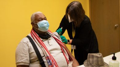 A patient receives a COVID-19 vaccine at Neighborhood Health in Nashville, Tennessee. (Credit: Neighborhood Health)
