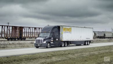 1,000 trucks per day have been sidelined due to storms