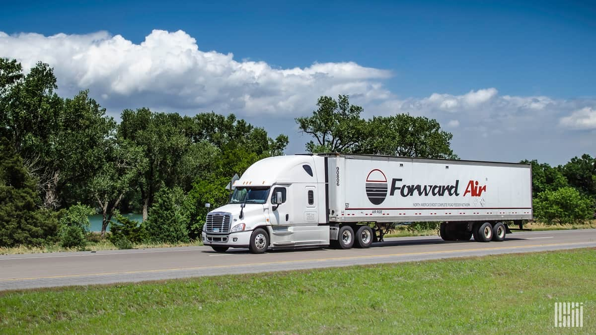 Forward Air is the latest to announce a general rate increase