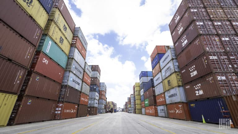 container contract rates