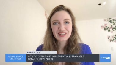 Flexport.org's founder discussed sustainability in retail supply chains.