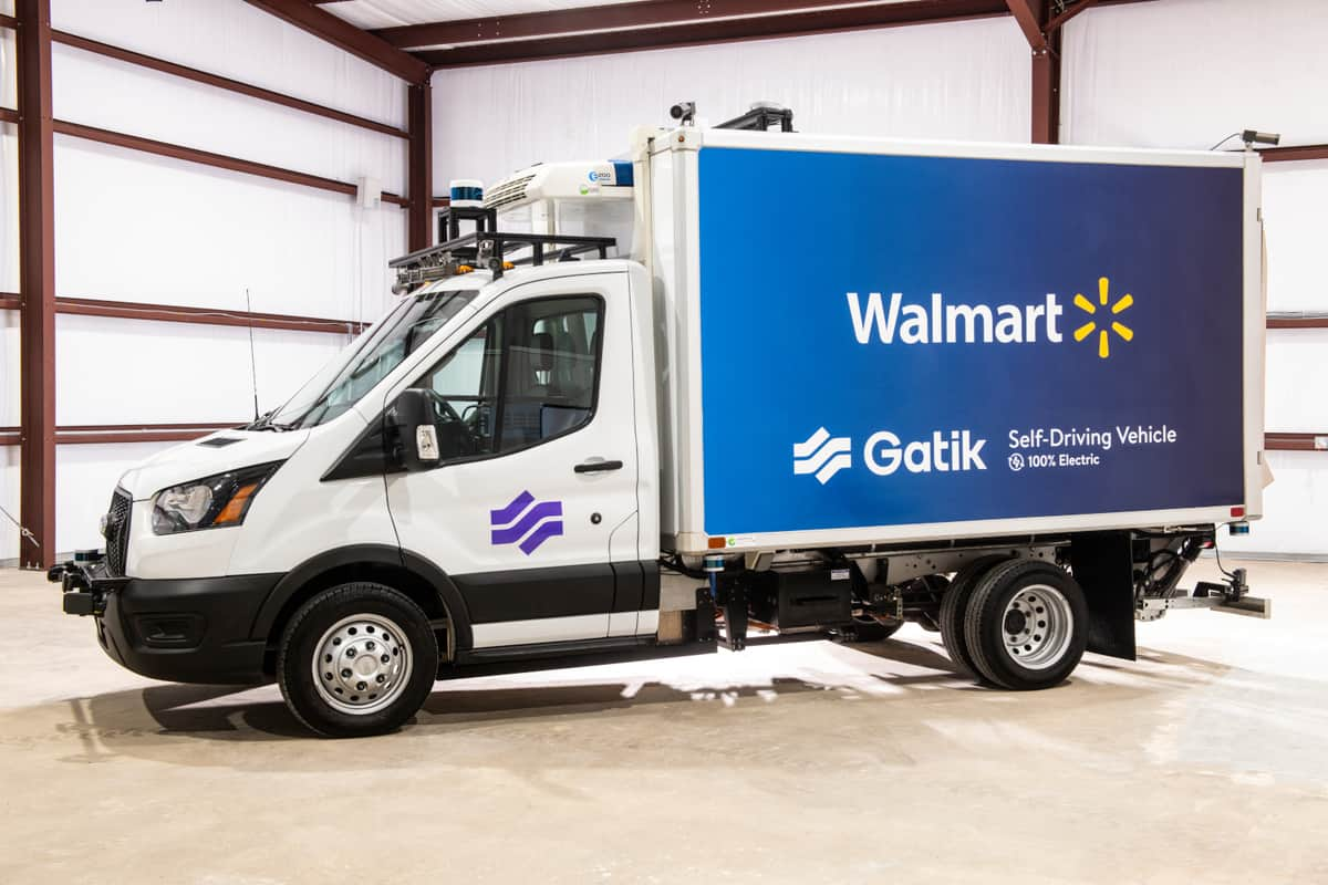 Gatik to test electric-powered autonomous vehicles for Walmart
