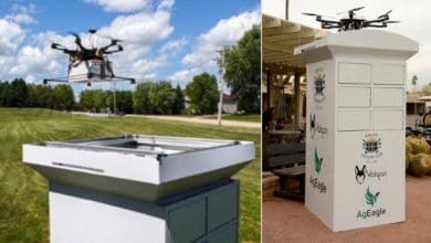 Drone delivery tested on Arizona golf course
