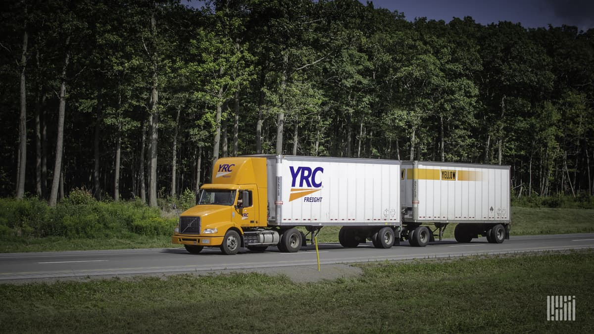 YRC Freight expands next-day service