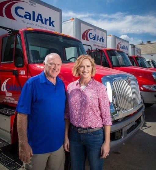 CalArk founder Tom Bartholomew and daughter Rochelle, the company's CEO. (Photo: CalArk)