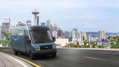 Amazon testing Rivian electric vans in San Francisco