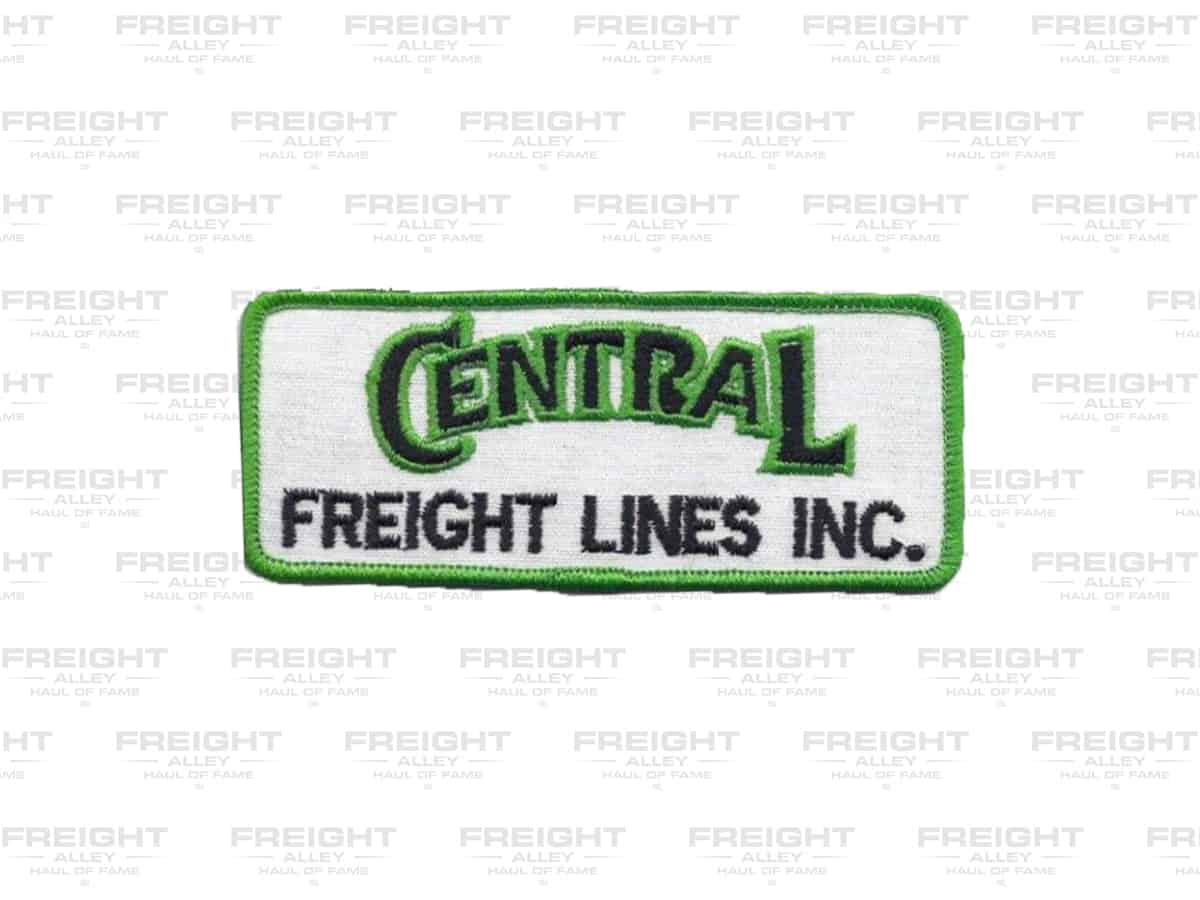A Central Freight Lines patch. (Dale Branch Collection)