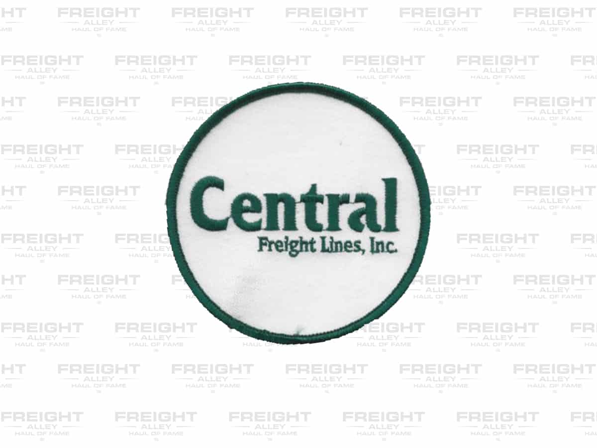 Another Central Freight Lines patch. (Dale Branch Collection)