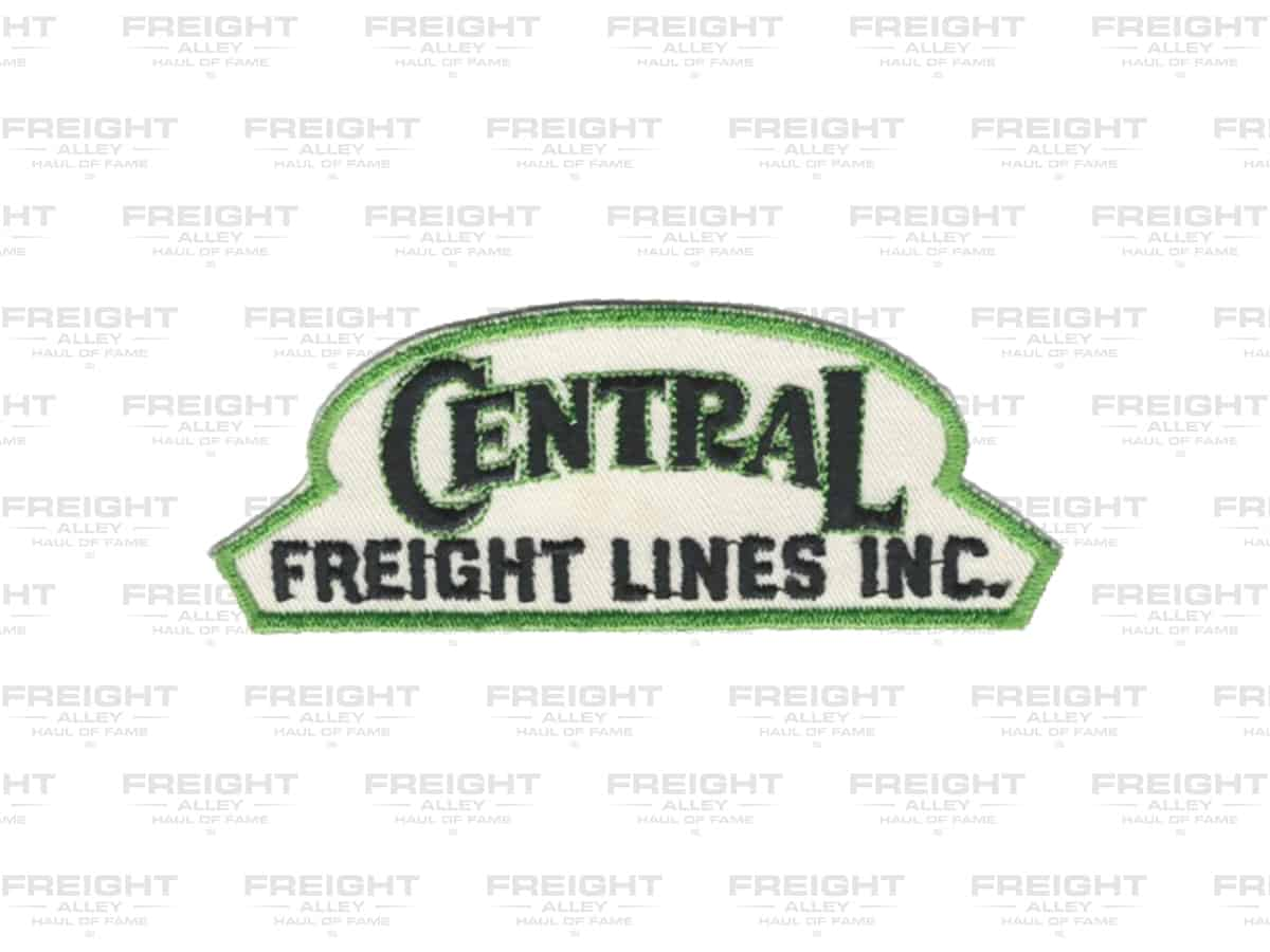 A third Central Freight Lines patch. (Dale Branch Collection)