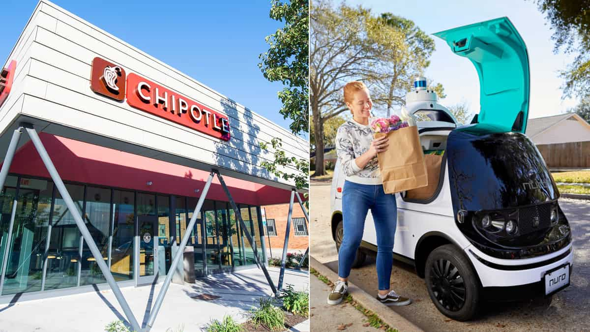 Chipotle invest in self-driving vehicle startup Nuro
