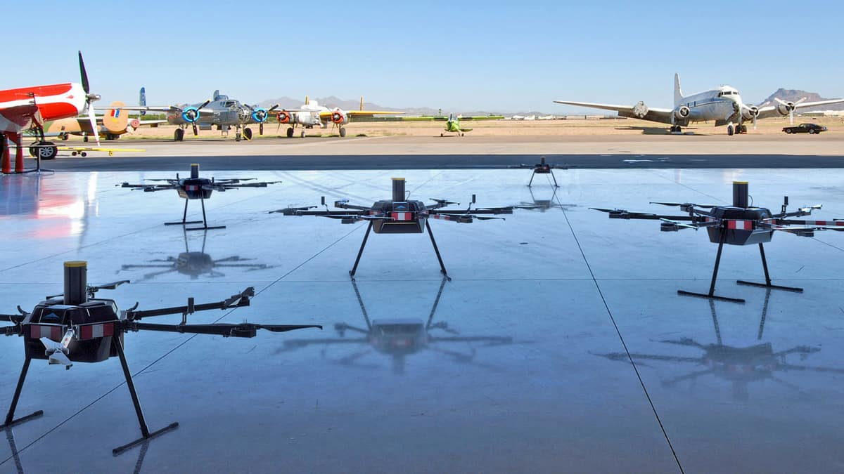 GoFor and Aurora Aerial to test drone delivery