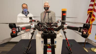 Drone delivers kidney for organ transplant