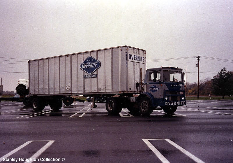 An Overnite Transportation tractor-trailer. (Photo: Stanley Houghton Collection)