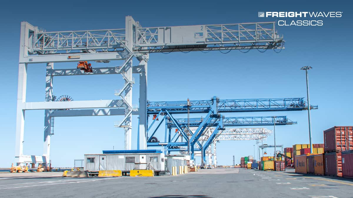 A photo of Conley Terminal, part of the Port of Boston complex. (Photo: Port of Boston)
