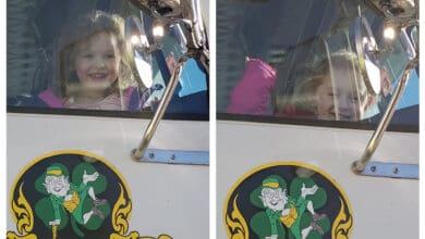 "The O'Brien twins are the ""future bosses"" of Irish Trucking! (Photo: Irish Trucking)"