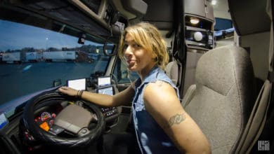 Einride survey reveals technology is drawing women into trucking.