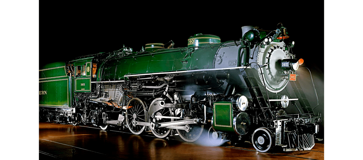 A 1926 diesel locomotive. (Photo: Smithsonian Institution/National Museum of American History)