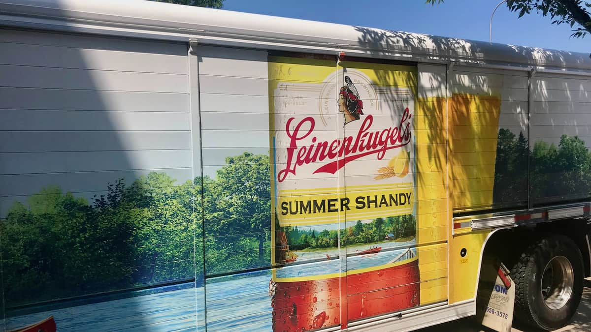 A trailer for Molson Coors beer Leinenkugel. Illustrates the shipping disruptions from a cyberattack on Molson Coors.