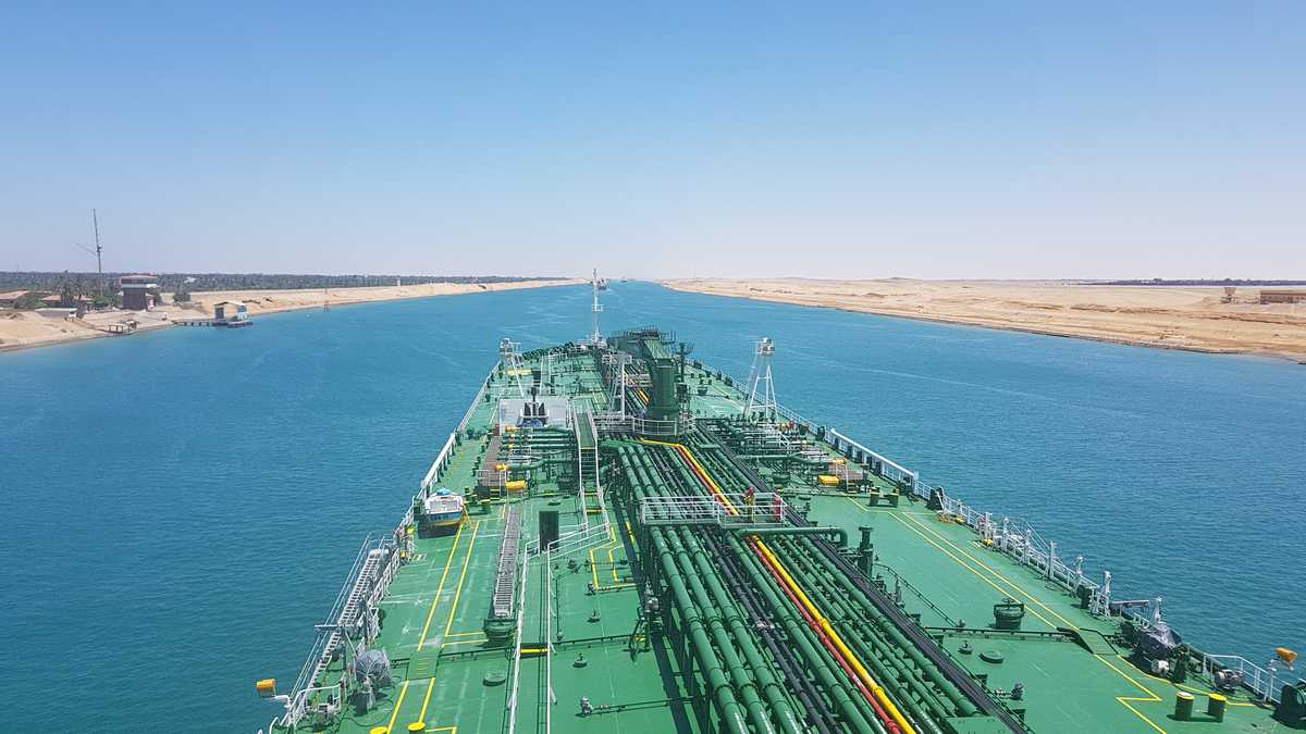 Suez Canal tankers