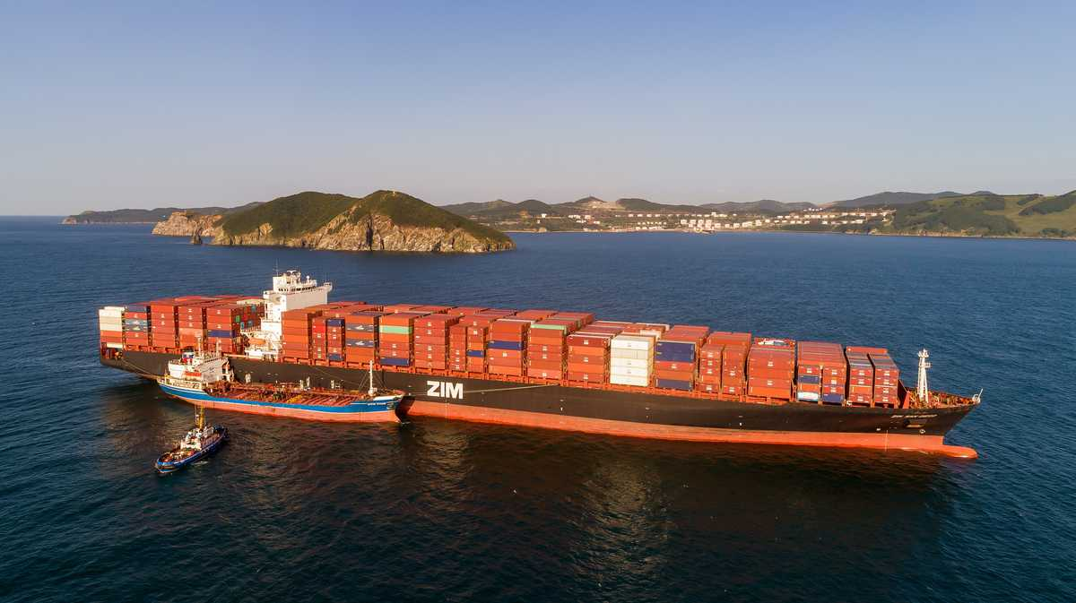contract rates for container ships rise