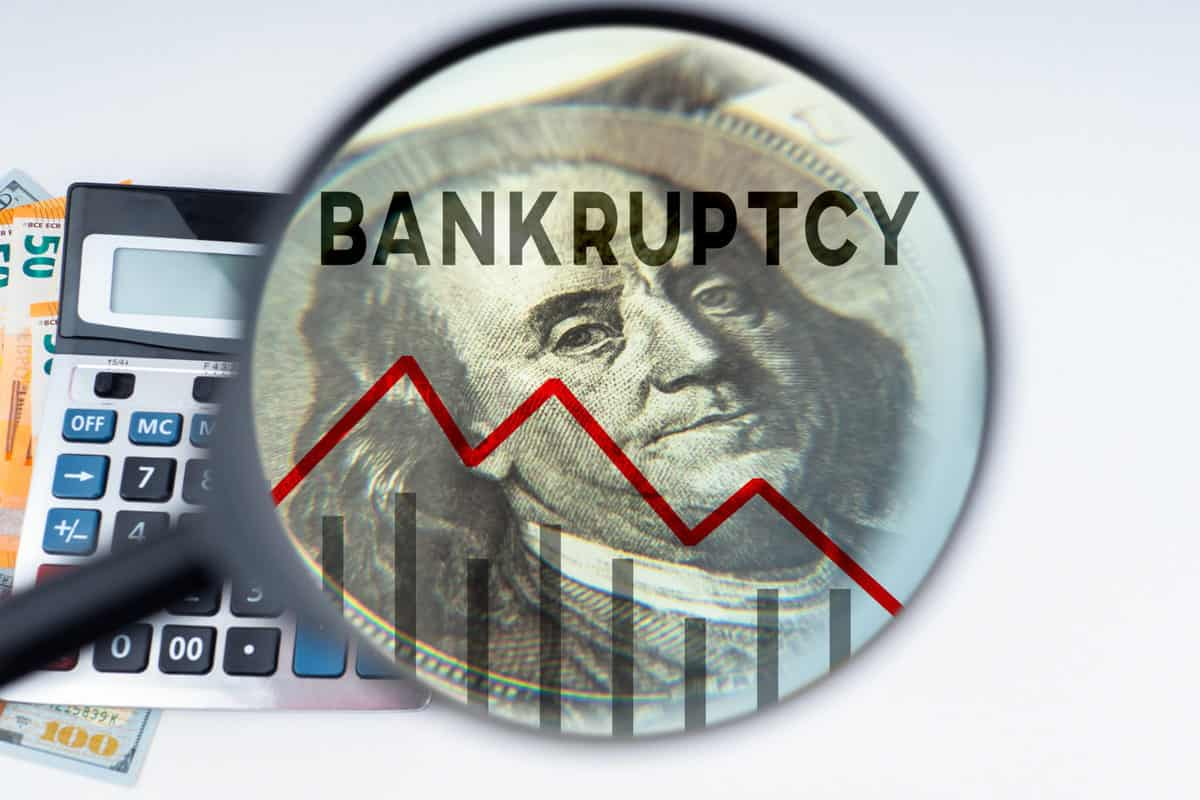 California freight forwarder files Chapter 7 bankruptcy