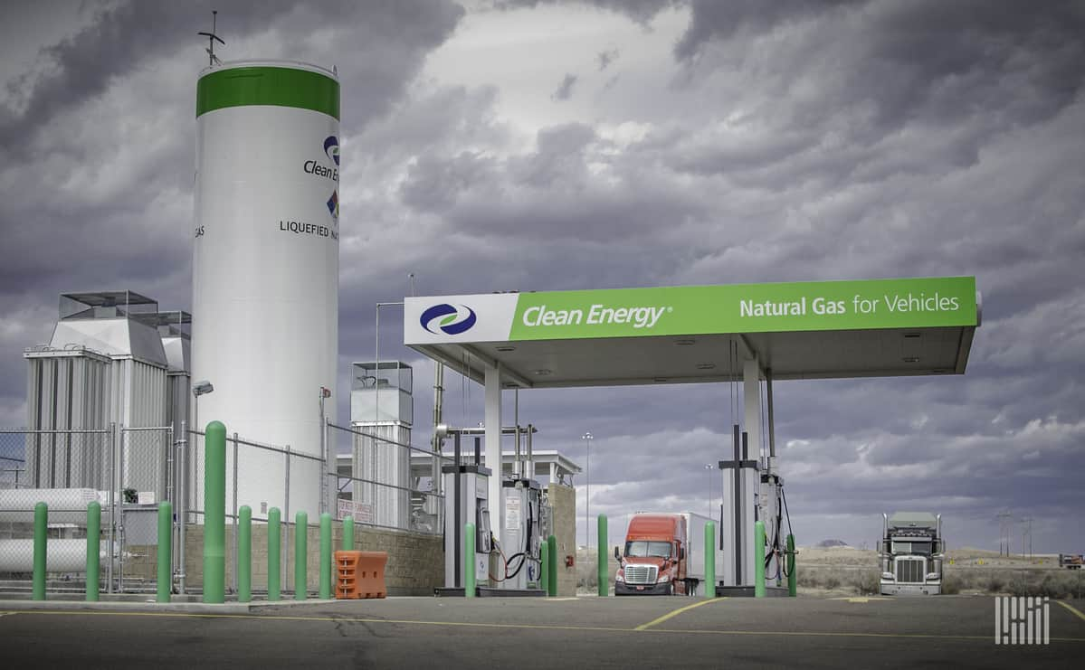 Amazon recently entered an agreement with Clean Energy for renewable natural gas and stock warrants.