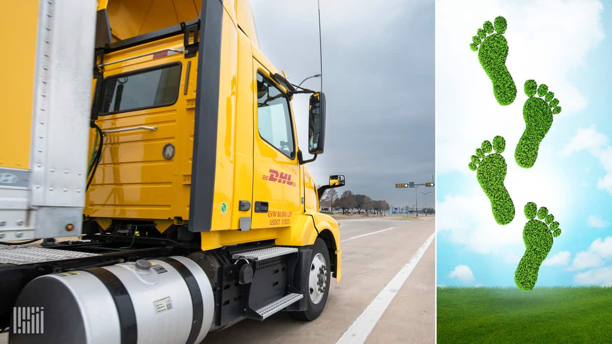 DHL eCommerce Solutions' Expedited Max service is now carbon-neutral.