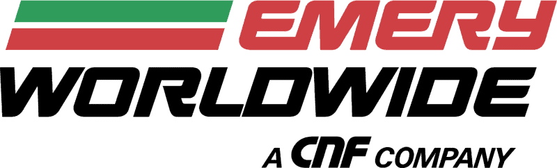 The Emery Worldwide logo during its tenure as part of CNF. (Image: wikimediacommons.com)