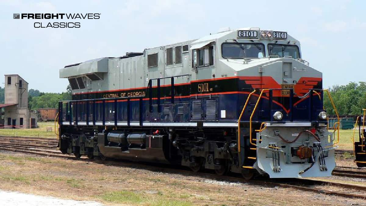 A Central of Georgia Railway locomotive. (Photo: American-Rails.com)