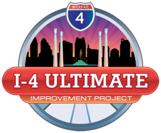 """The logo for the """"I-4 Ultimate Project""""  (Image: Interstate-Guide.com)"""