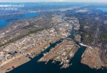 An aerial view of the Port of Seattle in 2020. (Photo: Northwest Seaport Alliance)