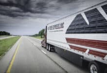 Georgia- based Tribe Transportation recently expanded its fleet of refrigerated trailers to meet growing demand from the life sciences industry. (Credit: Jim Allen/FreightWaves)