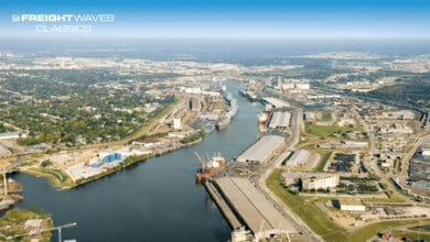 An aerial view shows part of the sprawling Port of Houston. (Photo: Port Houston)
