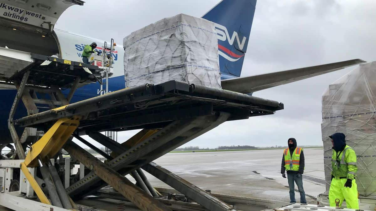 Azerbaijan cargo airline debuts at Rickenbacker airport