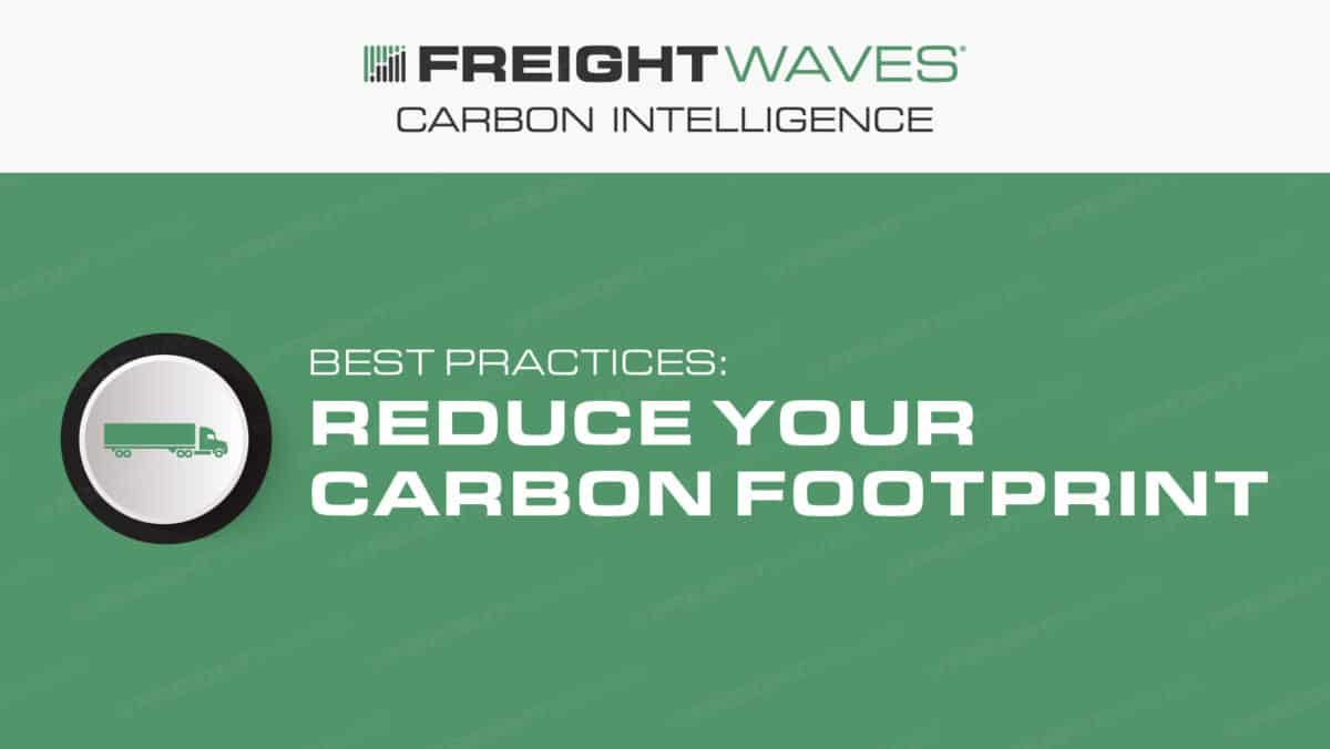 Daily Infographic: Best Practices – Reduce Your Carbon Footprint