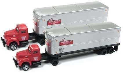 Models of Strickland Transportation trucks. (Photo: trovestar.com)