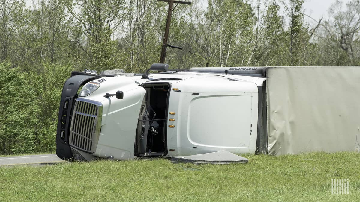 High-wind threat developing for Northeast truckers