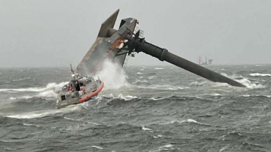 Coast Guard coordinates cleanup after deadly SEACOR Power capsizing