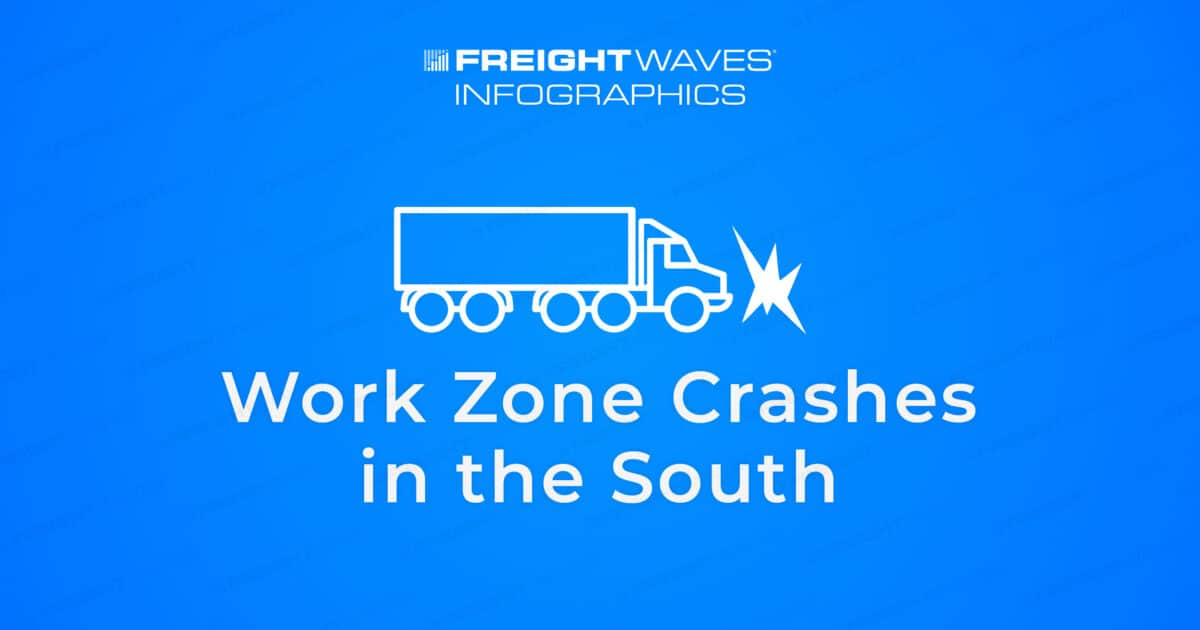 Daily Infographic: Work Zone Crashes in the South