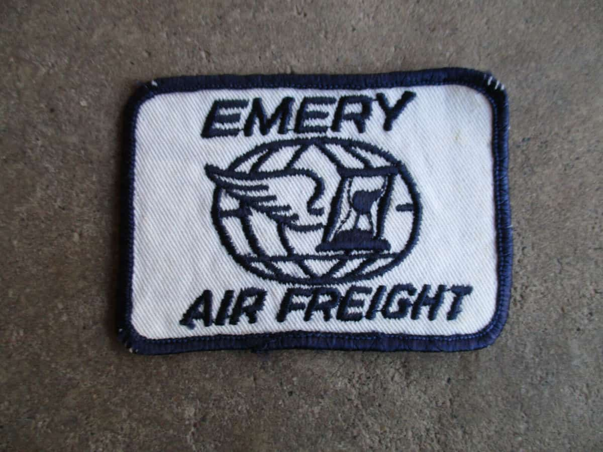 A vintage Emery Air Freight patch. (Dale Bridge Collection)