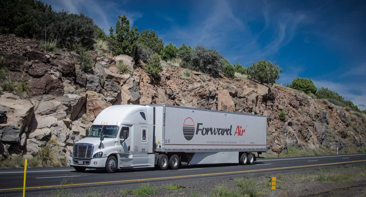 """""""Boom times"""" in the freight market, says Forward CEO"""