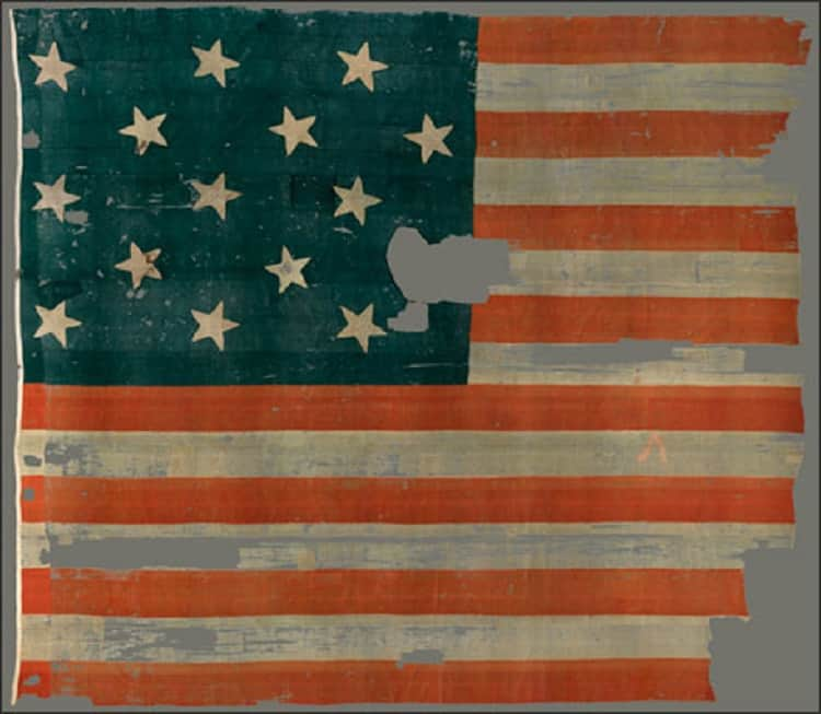 """The """"Star-Spangled Banner."""" (Photo: National Park Service)"""