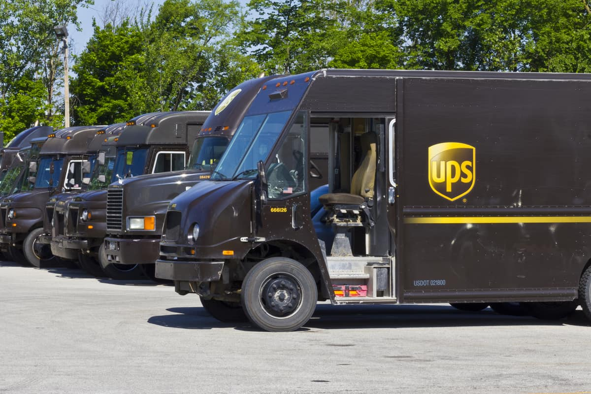 UPS posts strong first quarter with pension adjustments as driver