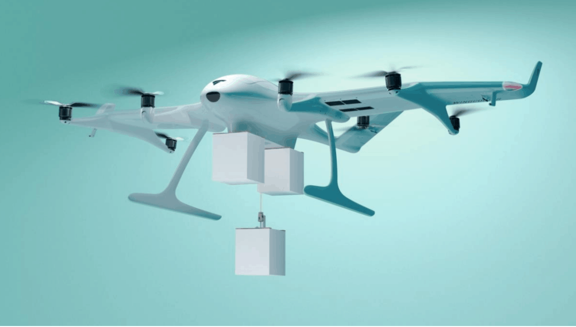 Wingcopter launches triple-drop delivery drone